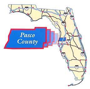 Voller nackter Pasco County